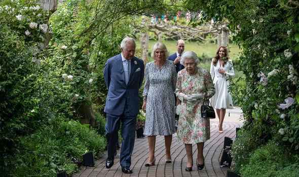 William and Kate joined Charles, Camilla and the Queen at the G7 summit