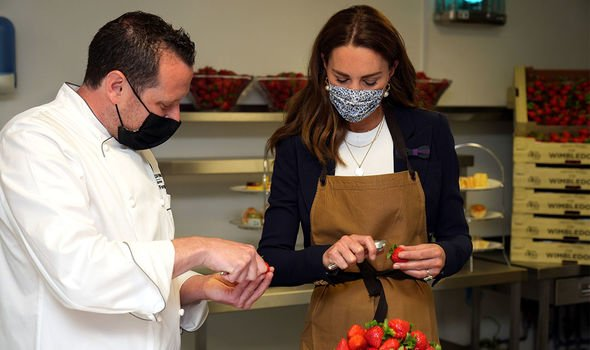 duchess of cambridge wimbledon kitchen