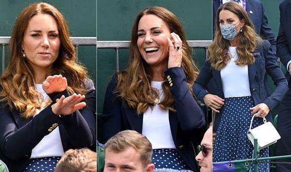 kate middleton duchess of cambridge wimbledon