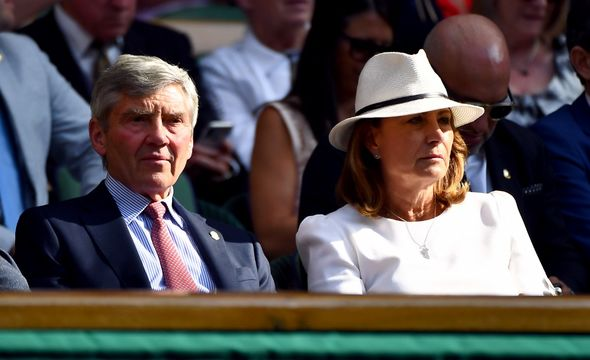 Michael, 72, and Carole Middleton, 66, also live in the Royal County of Berkshire in the village of Bucklebury.
