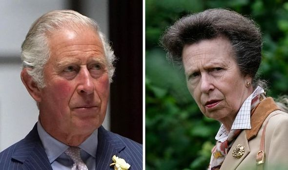 Princess Anne: The Princess Royal was reportedly furious with Charles and Diana