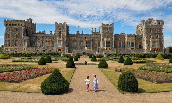 Windsor Castle East Terrace