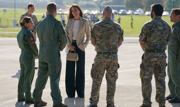 Kate: Meeting service personnel this week