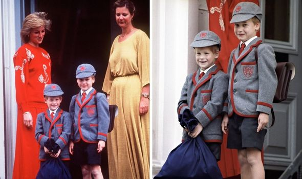 Prince Harry's first day at Wetherby