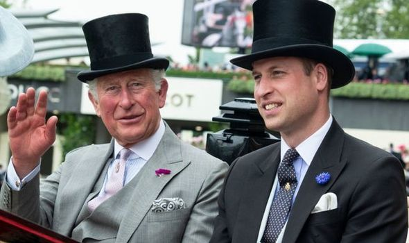 Prince William is following his father's footsteps